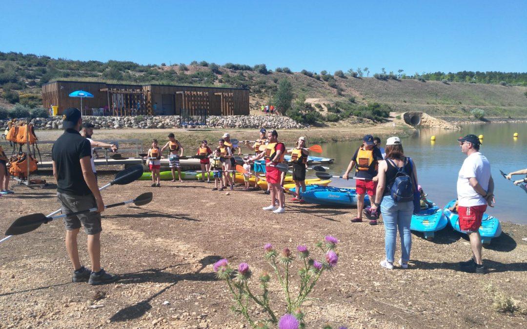 Multi-aventura en el pantano de Almansa